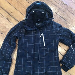 Sunice winter jacket, black, size 4